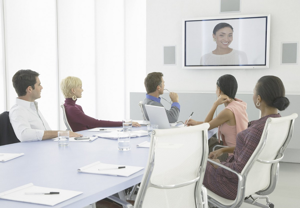 arkadin_product-Businesspeople-having-a-video-conference